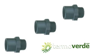 """Irritec AM3 M-F / M - Ø40 x Ø50 x 1""""¼ - PVC Adaptor"""