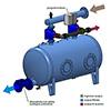 Irritec KPB 4 outlets - Backwash automation kit