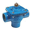 Irritec VCL 3 way in-line valve for sand filter backwash