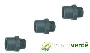 Irritec AM3 M-F / M - Ø25 x Ø32 x 1''- PVC Adaptor